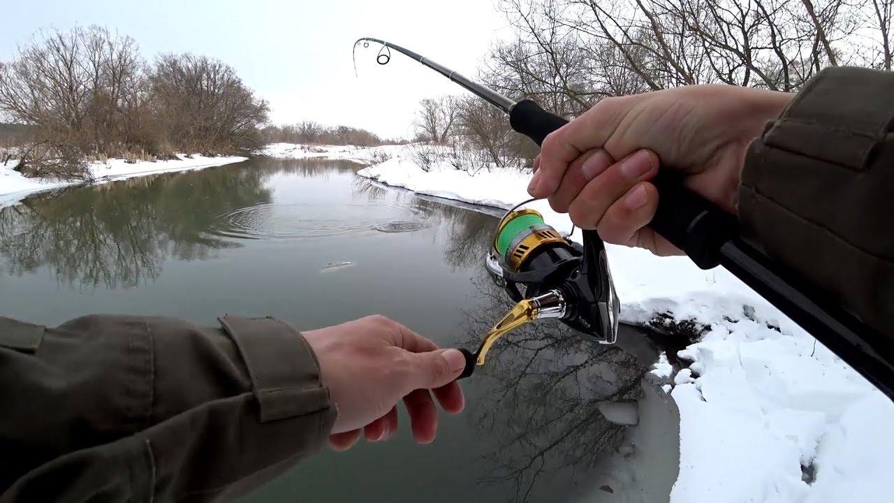 Вот так рыбалка! Не думал, что в этой маленькой речке столько рыбы! Рыбалка на спиннинг весной 2018!