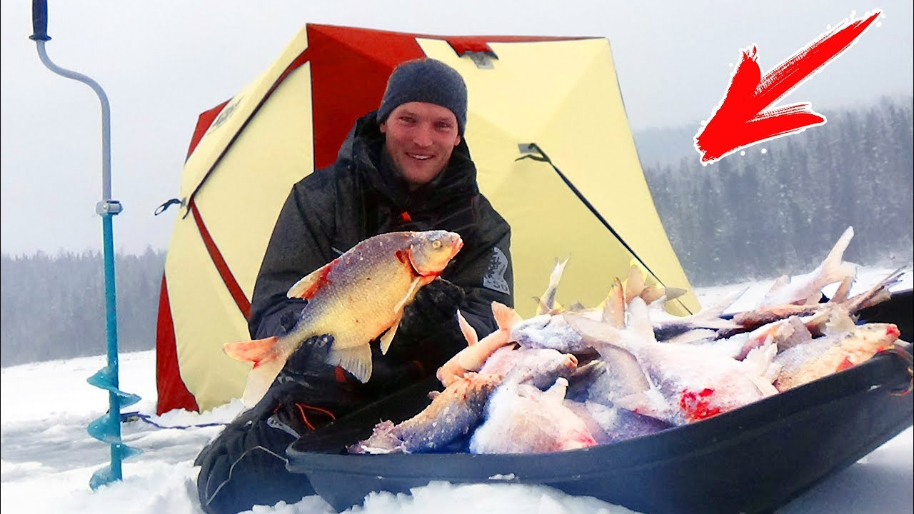 ВОТ ЭТО БОРЬБА !!! Мастер-КЛАСС от меня! Рыбалка  зимой на чёртик (безмотылку)