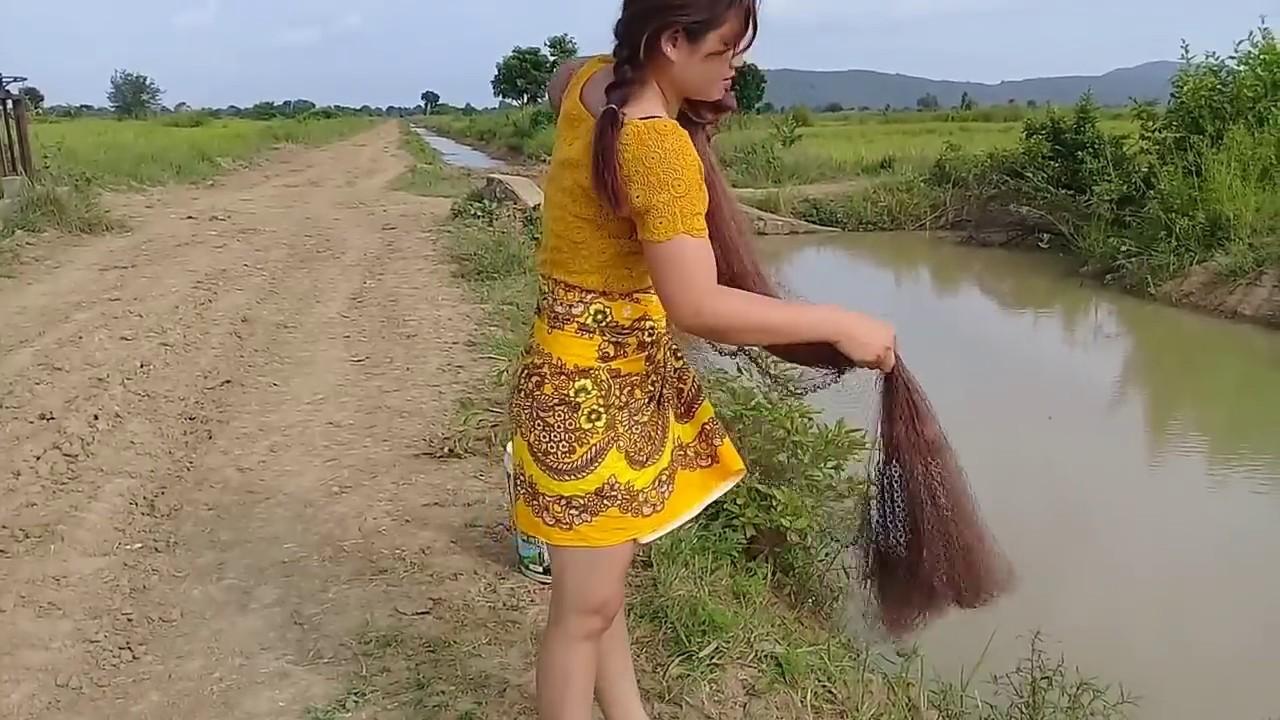 Amazing Fishing Traditional at Salakrao —  Khmer Net Fishing(part27)