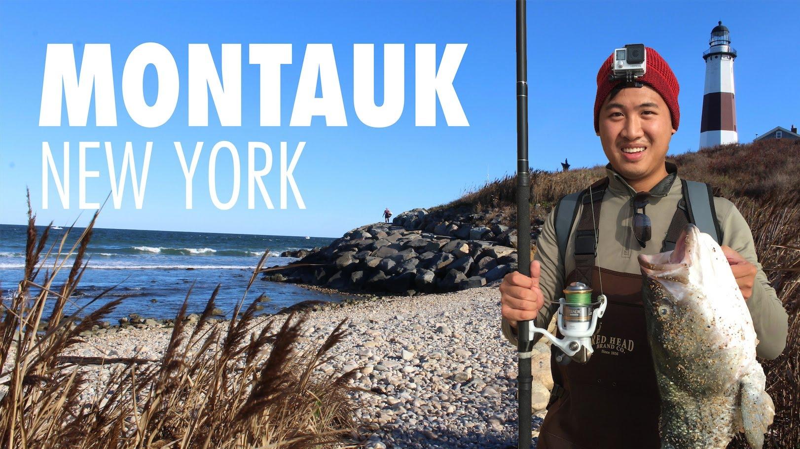 Montauk Fishing:  Americas Best Surf Fishing Spot?