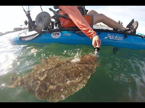 Killer Kayak Flounder Fishing!