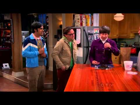 The Big Bang Theory — Penny is teaching Howard fishing!