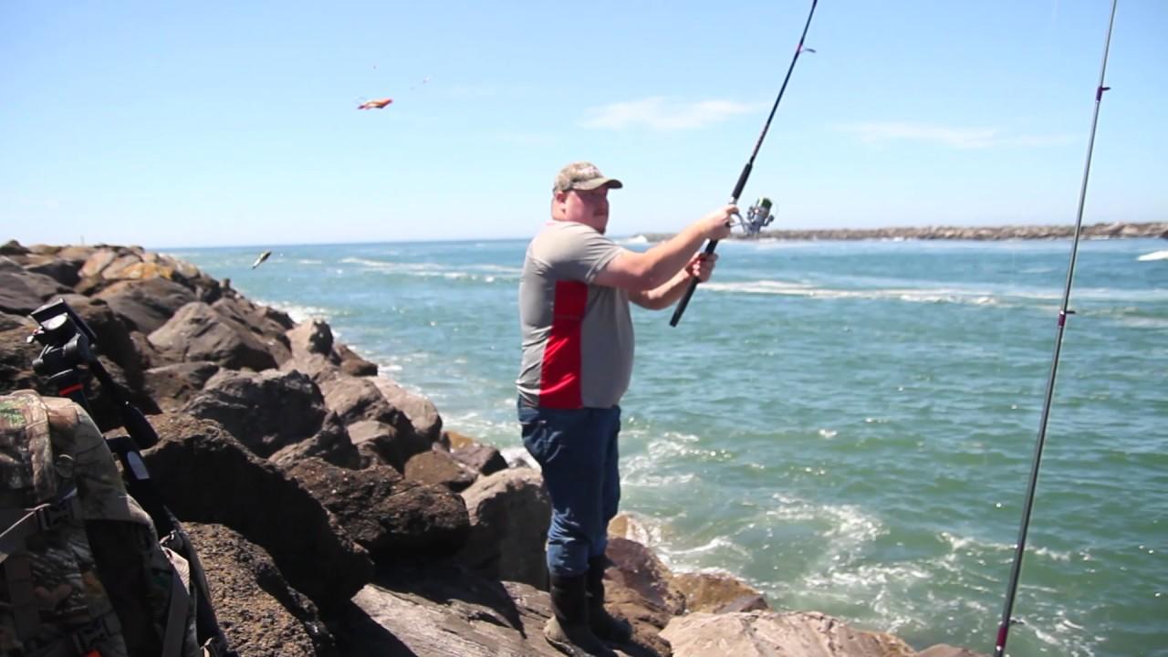 Jetty Fishing off the coast