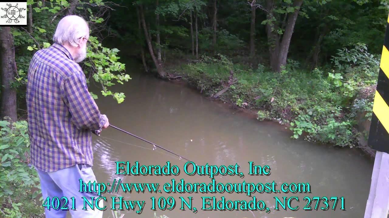 Roadside Creek Fishing