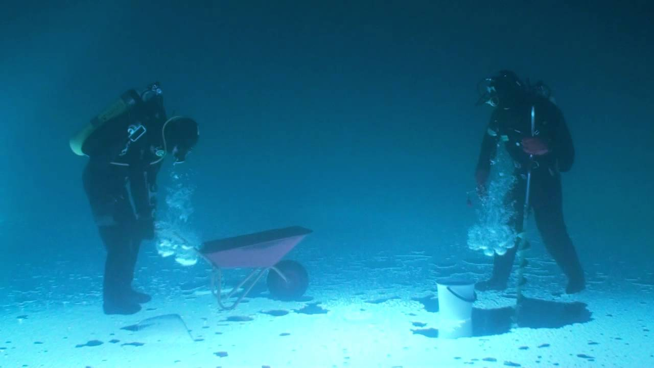 Fishing under ice (ORIGINAL)