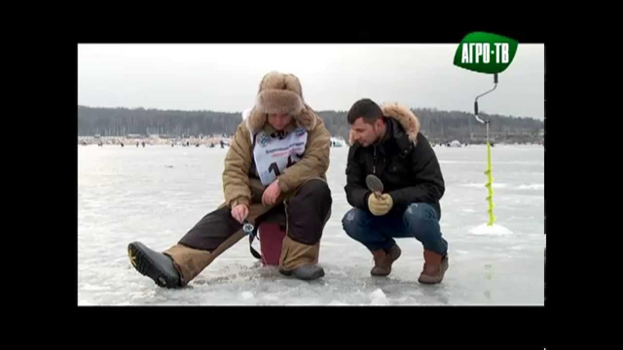 Песня»Зимняя рыбалка». «Народная рыбалка».Денис Майборода на Агро-ТВ.