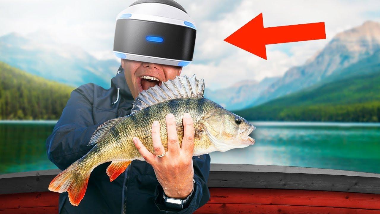 FISHING IN VIRTUAL REALITY!
