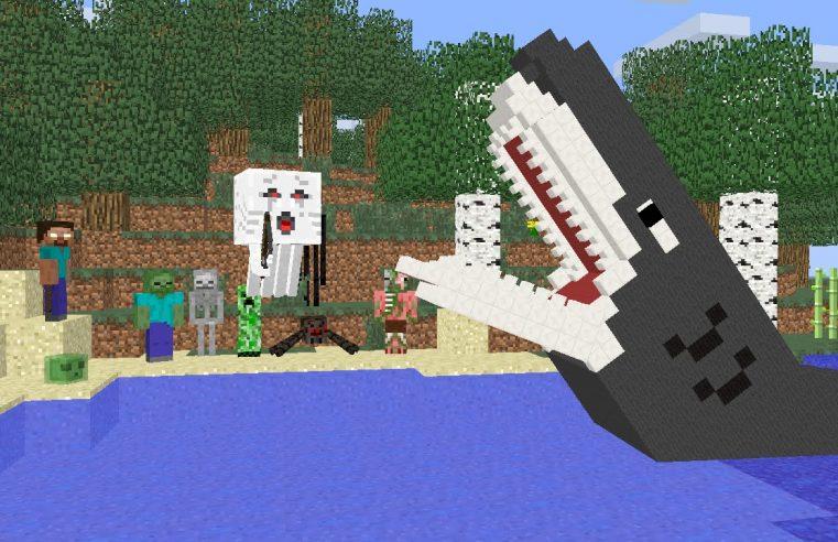 Monster School : Fishing Challenge — Minecraft Animation