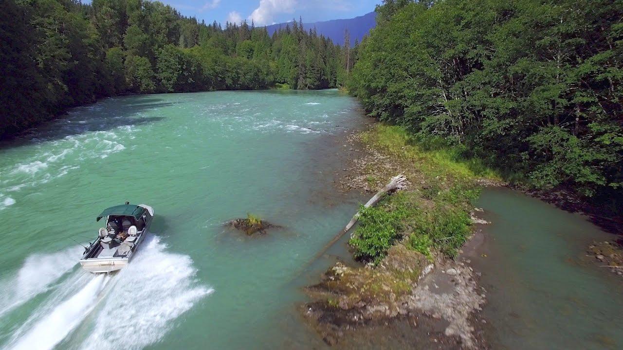 Fishing for Chinook Salmon — British Columbia