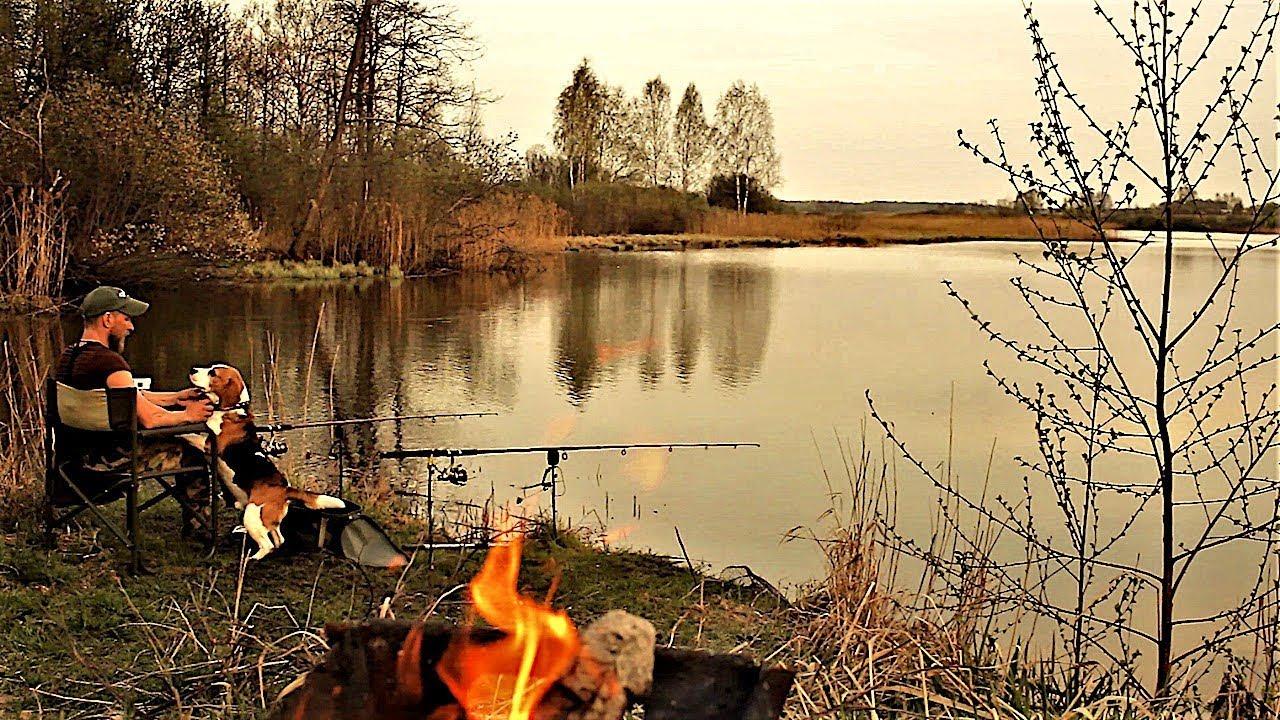 Рыбалка с Ночёвкой с Жориком. Первая в сезоне 2018. Вот Это КЛЁВ!!! Первый раз такое.