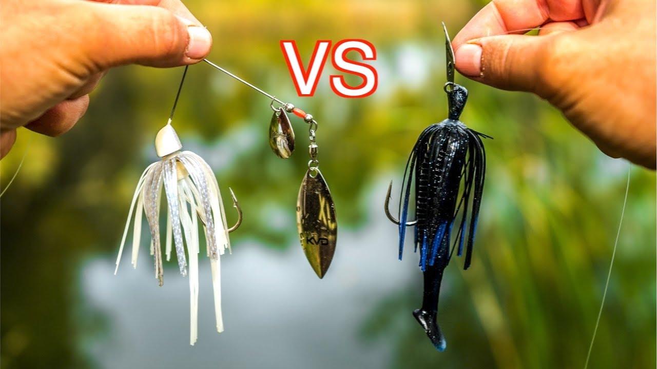 Spinnerbait VS Chatterbait Fishing Challenge!!! (Surprising Result!)