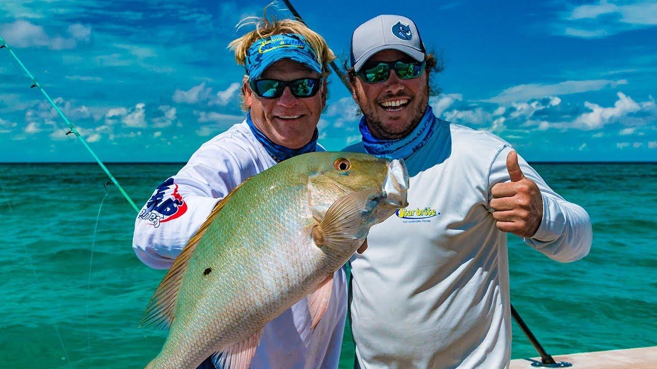 Chub Cay Bahamas Deep Sea Fishing Mahi Mahi Mutton Snapper — 4K