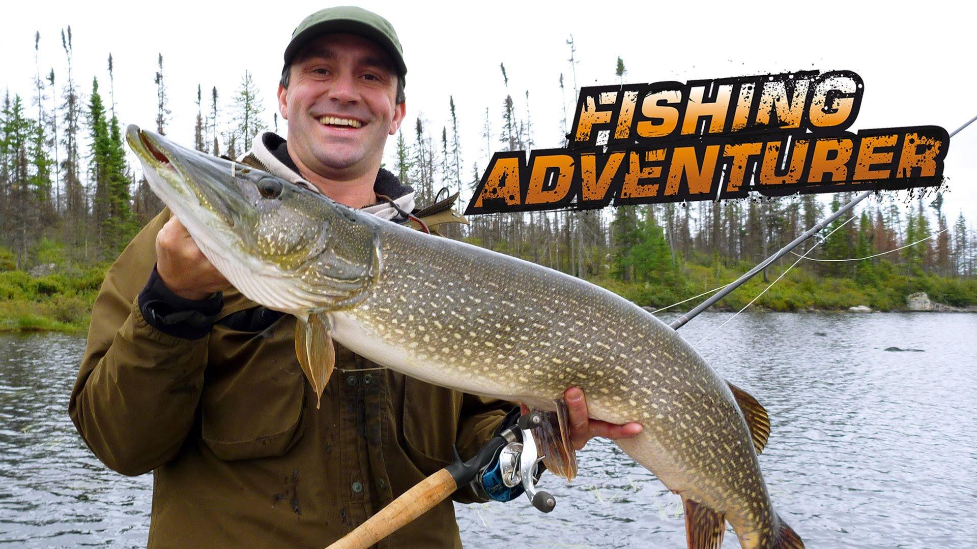 Jurassic pike in James Bay, Quebec — Fishing Adventurer