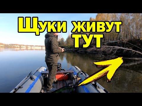 Где искать щуку осенью? Места стоянок щуки. Рыбалка на спиннинг / AikoLand TV