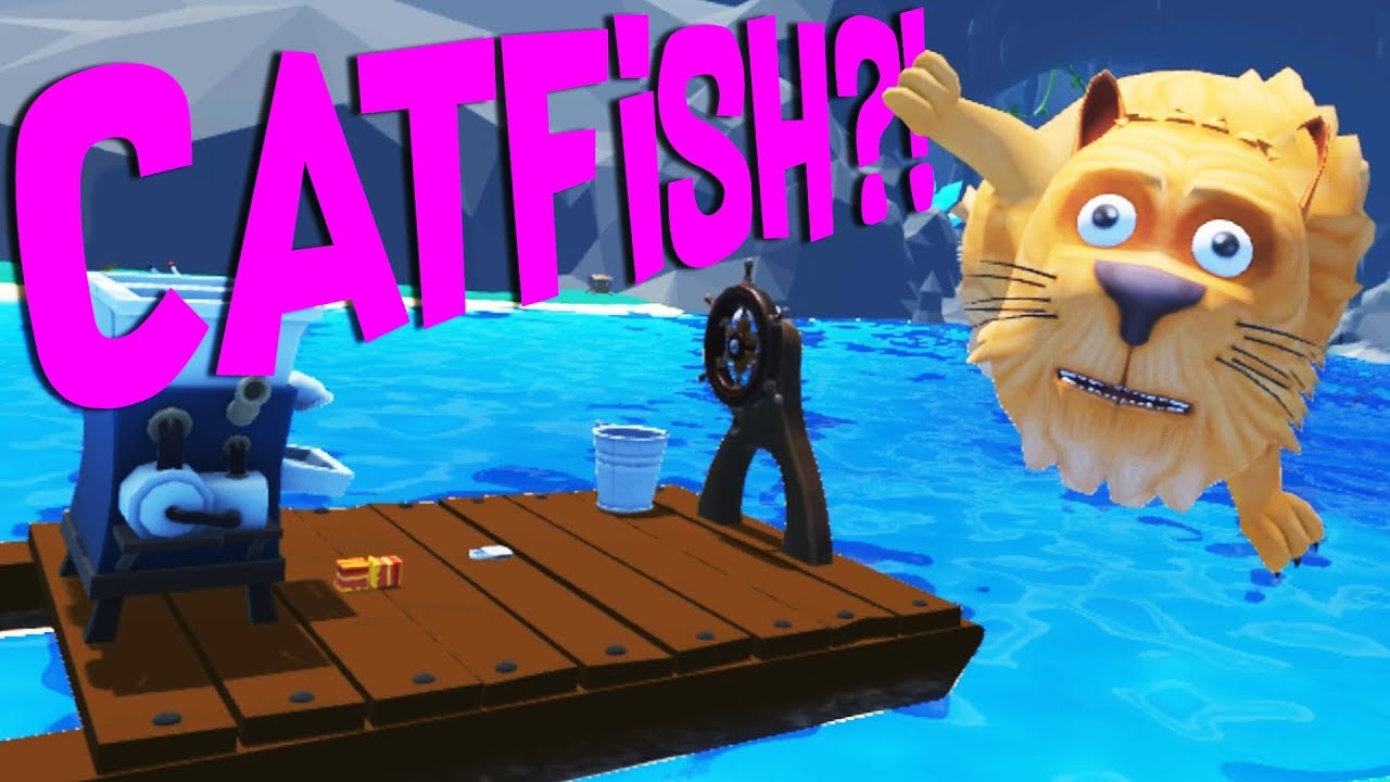 Fishing for the Epic Catfish and Repairing the Boat! — Crazy Fishing HTC Vive VR