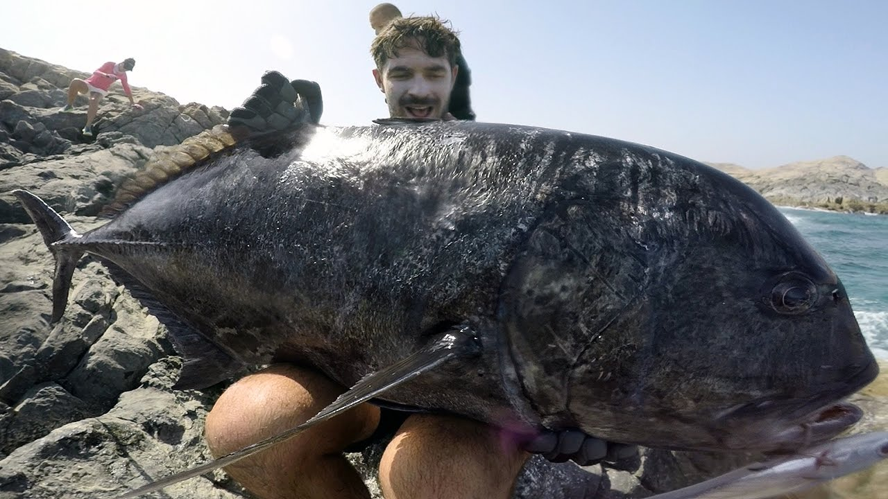 Fishing for Monster GT with No Boundaries Oman