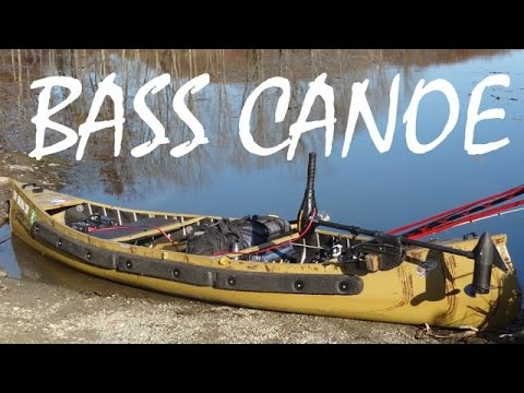 The BEST fishing canoe