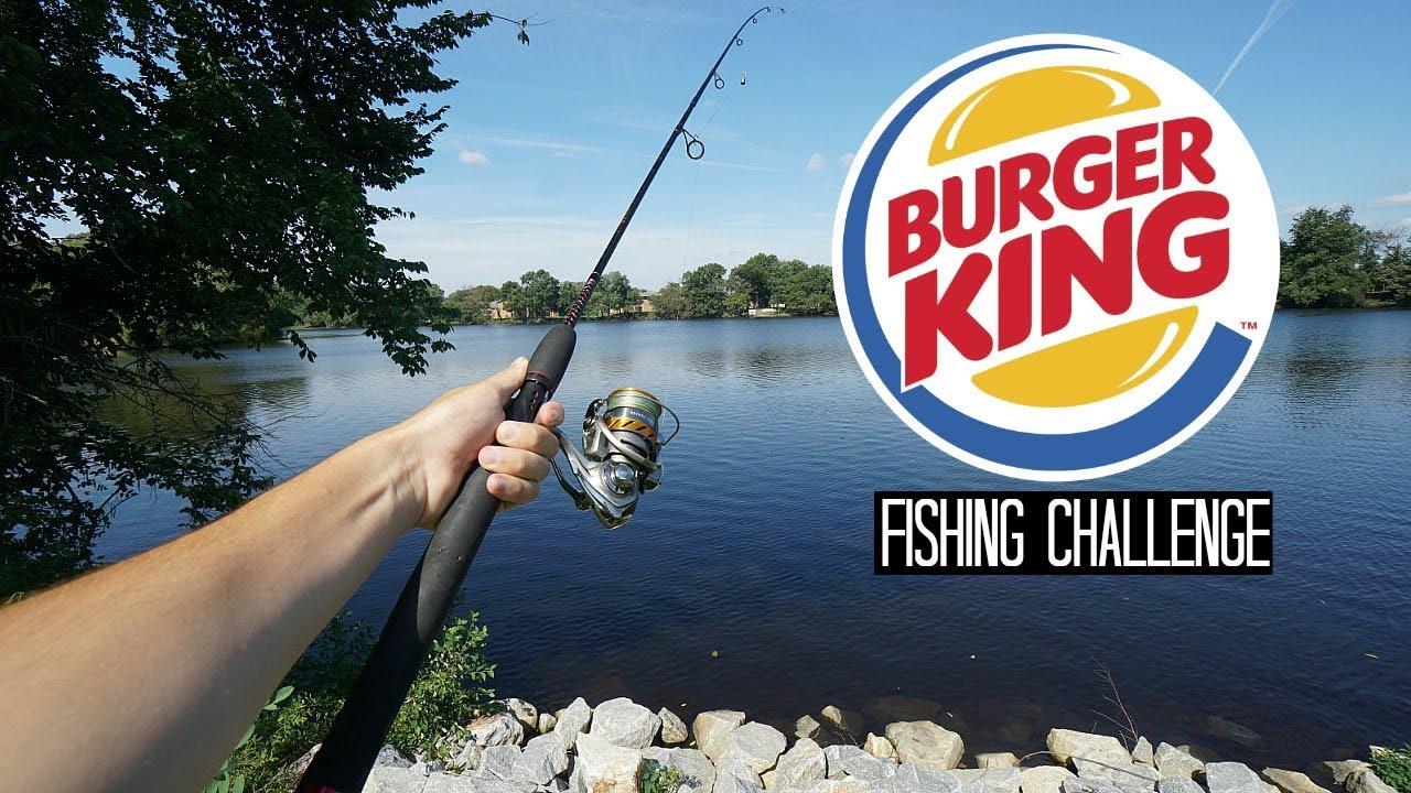 Burger King Fishing Challenge!! (Craziness)