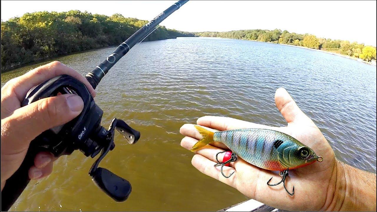 FALL BASS FISHING w/ my New Favorite Bait!