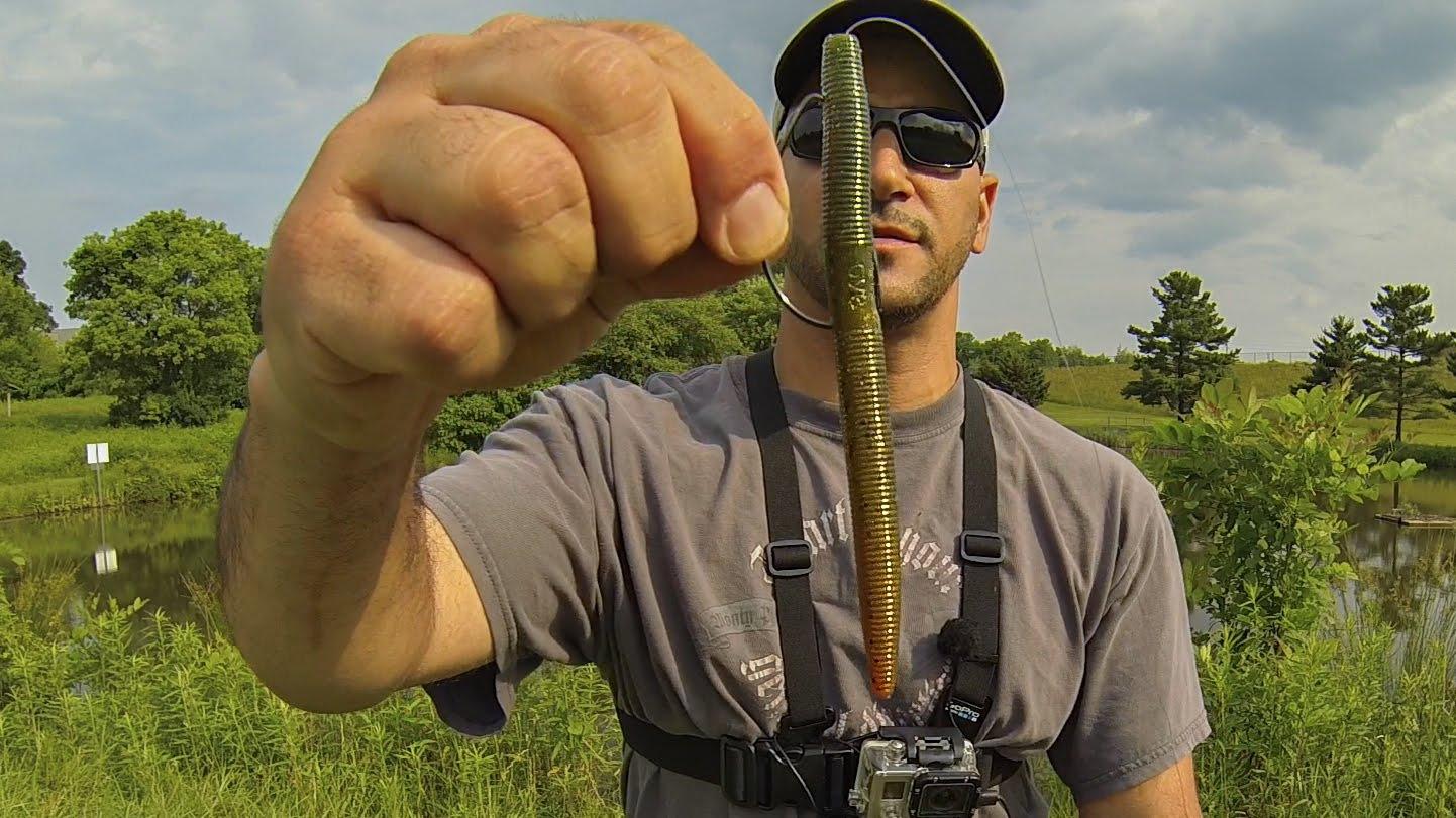 MYSTERY POND BASS FISHING (TIPS & TECHNIQUES) FLUKE & SENKO