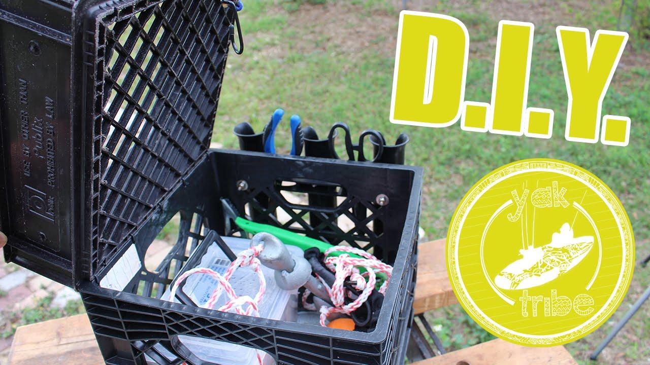 DIY Crate Mod — Kayak Fishing