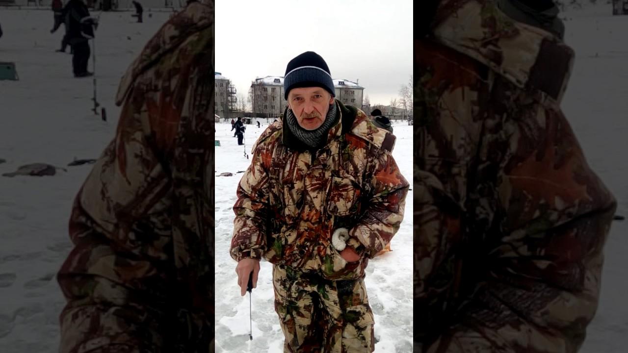 Рыбалка у Бородина 29.12.2016