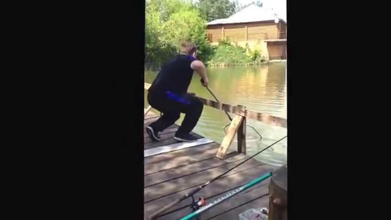 Рыбалка у Бородина (поимка сома на 3,5 кг)