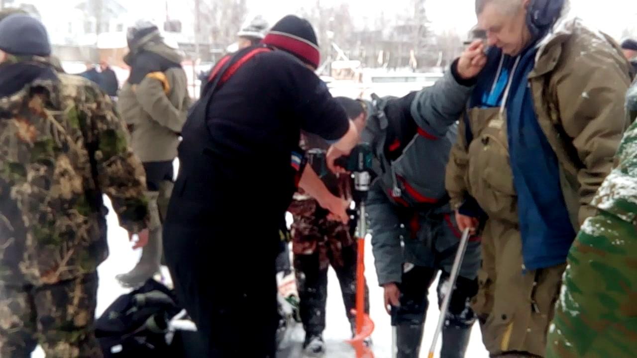 Рыбалка у Бородина 4.01.2017