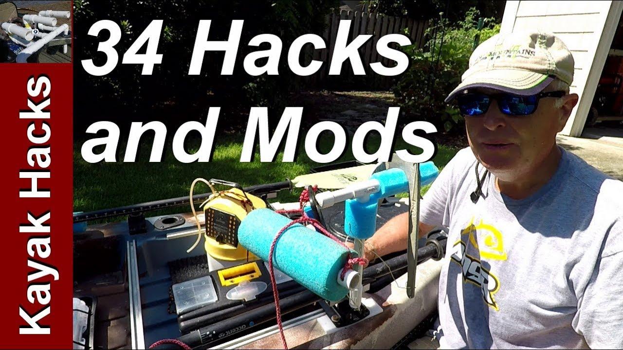 Fishing Kayak Setup Ideas — Easy Kayak Modifications for Fishing