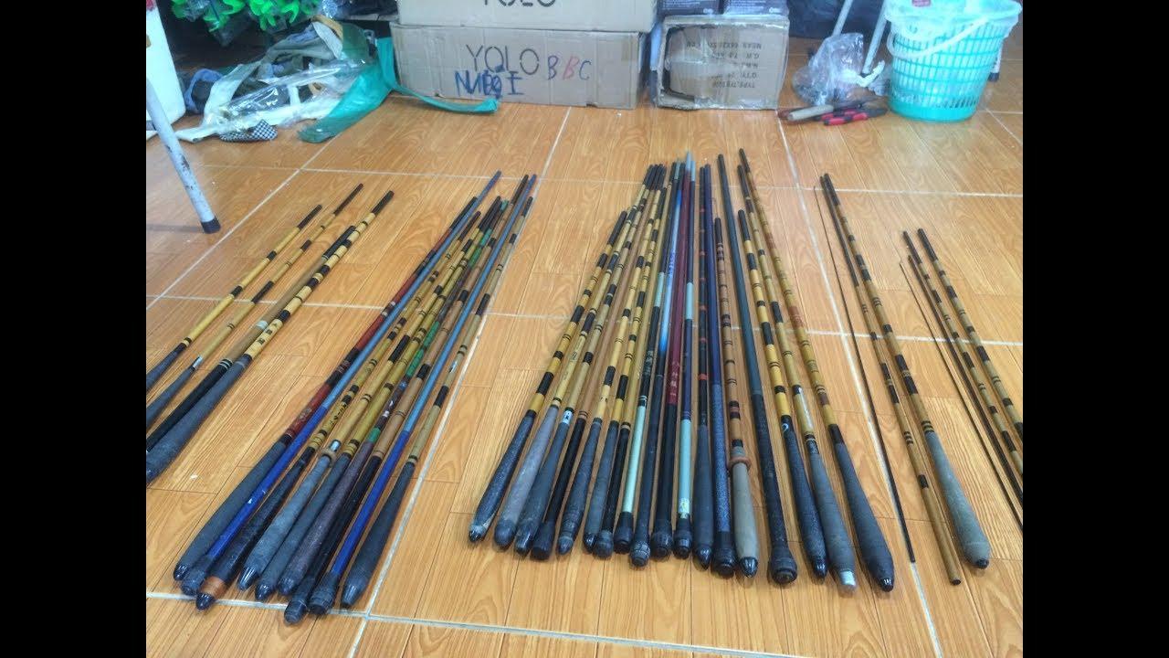 Fishing — Cần tay bãi 1,8 — 2,8m, cần 2 khúc lure 1,3 — 2,1m và các đơn hàng đã gửi