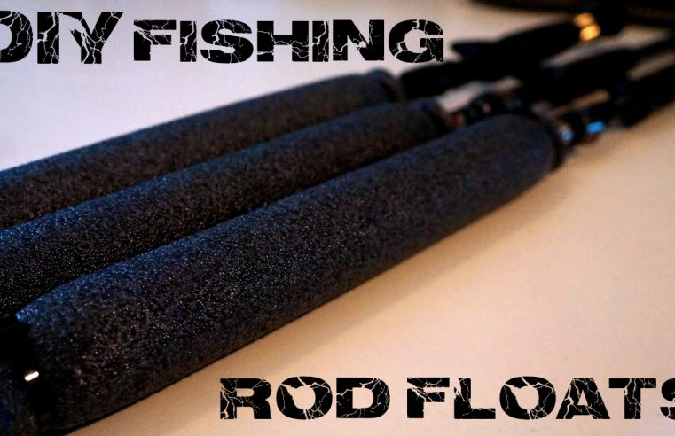 How to: DIY Fishing Rod Floats for under $5