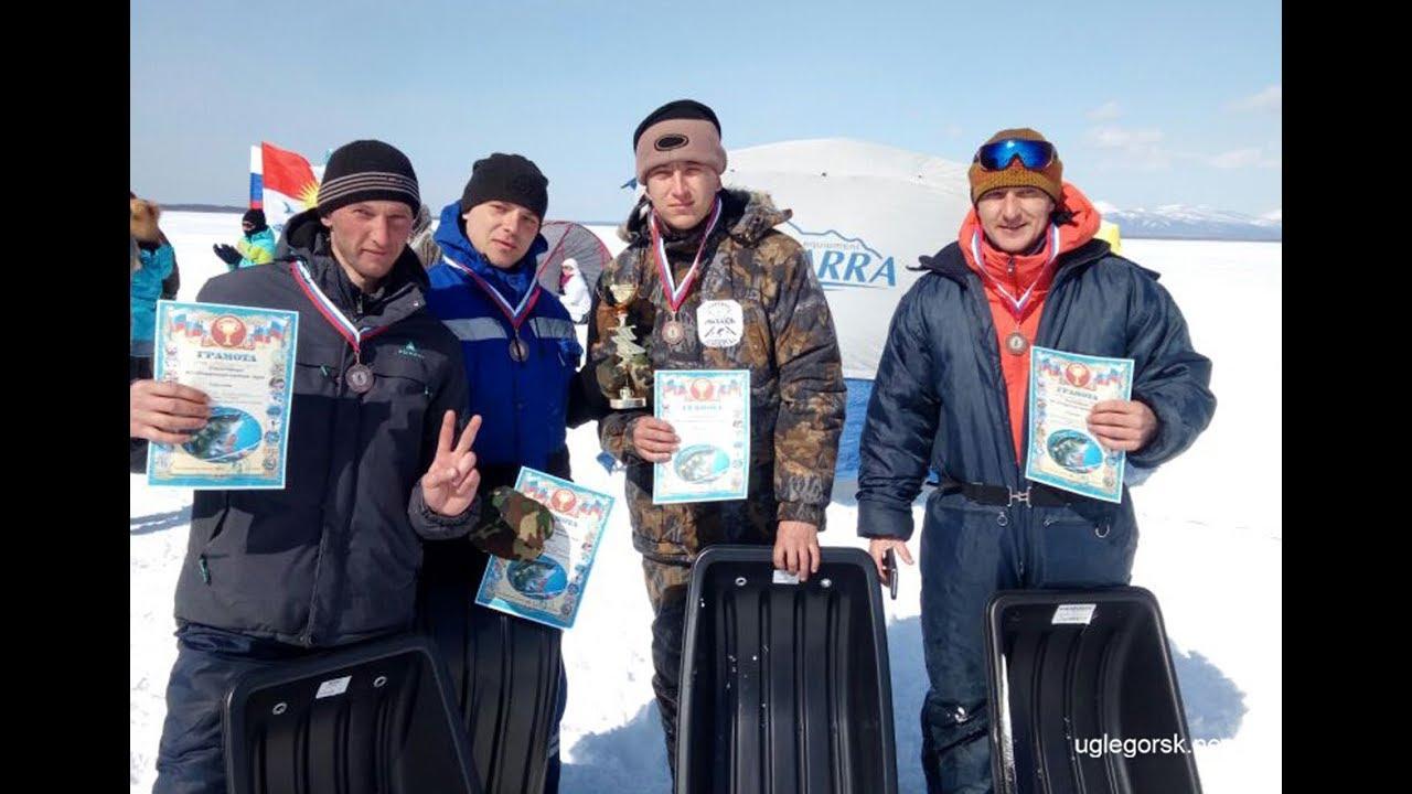 17.03.2018 — Соревнования по спортивной рыбалке в Красногорске