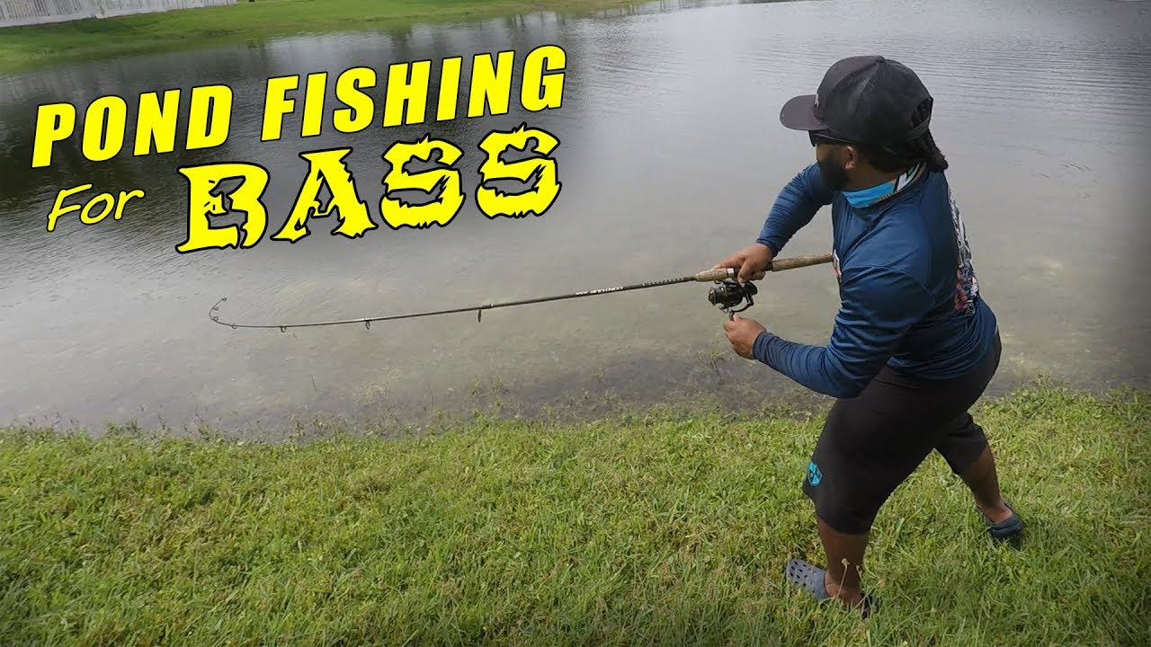 POND Fishing for Big BASS on Artificial Lures | Monster Mike