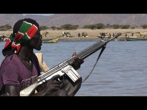 Fishing with guns on Kenya lake under threat
