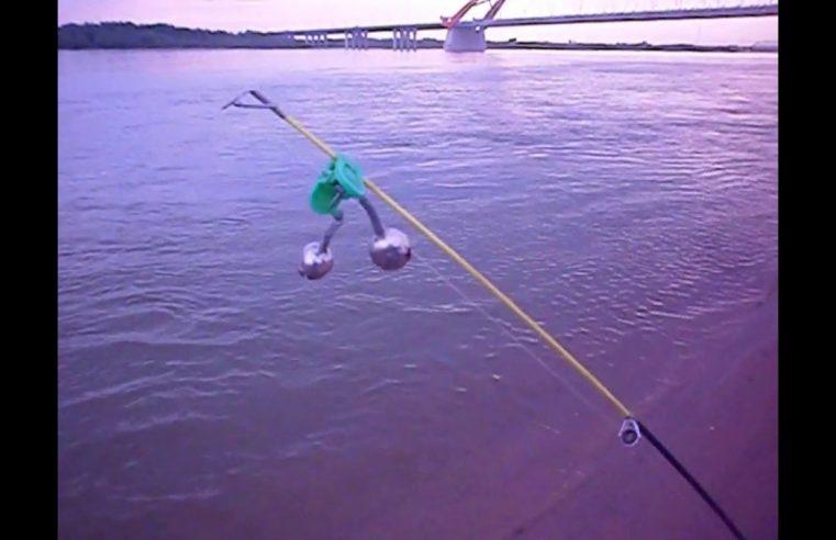 Видео. Рыбалка на Оби.  22. 06.  2018 г.  Левый берег.  Бугринка.