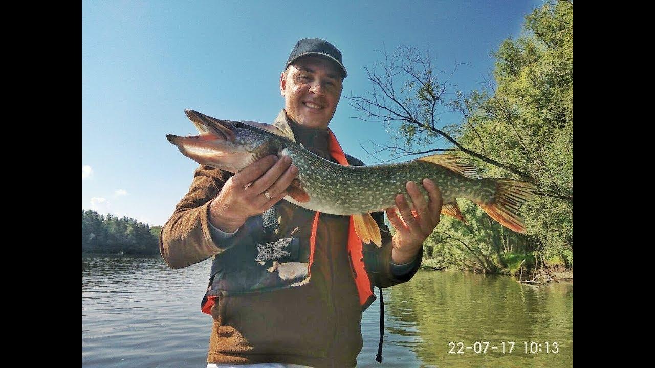 Бешеный клев ЩУКИ. Рыбалка сплавом по Оби г. Новосибирск.
