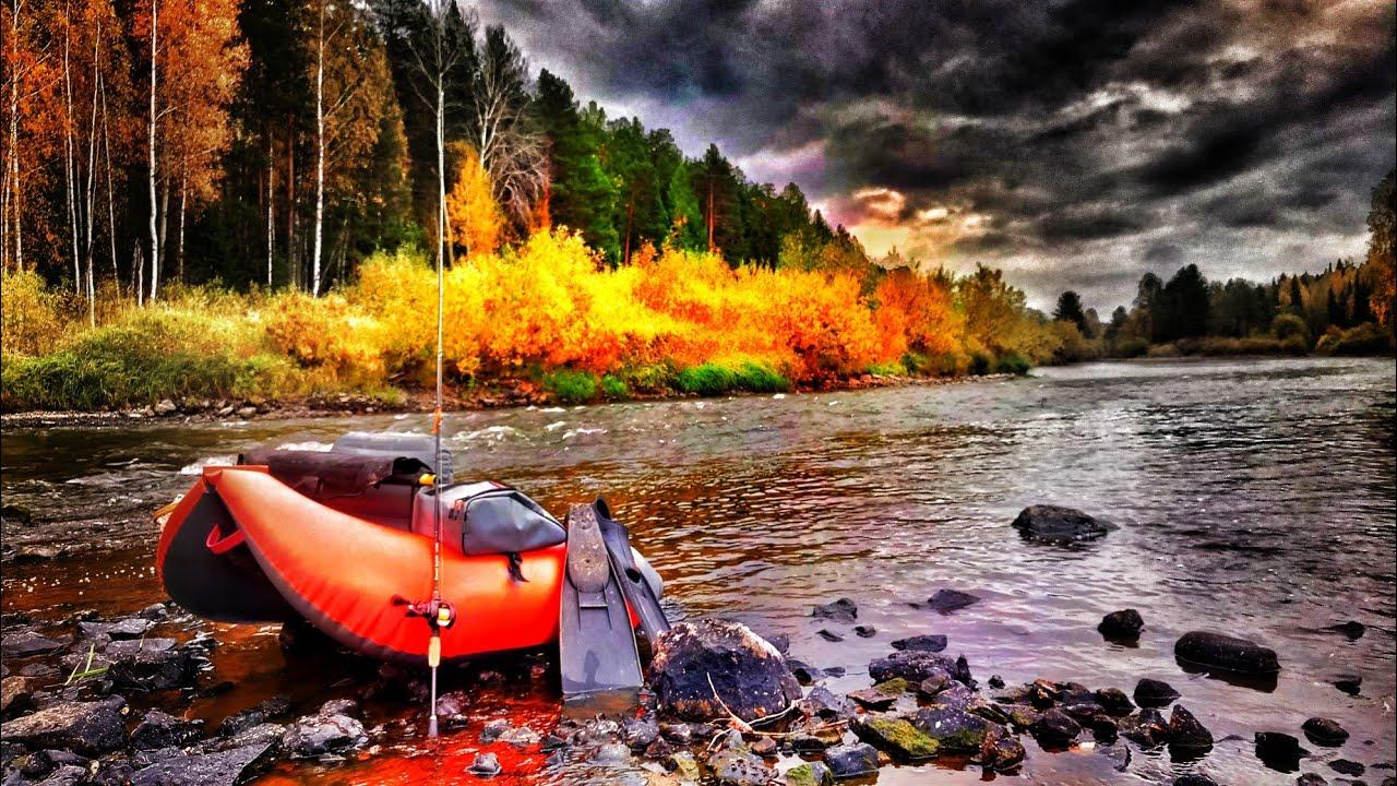 Щука и Окунь рыбалка на джиг осенью. Когда рыба стоит в укромном месте