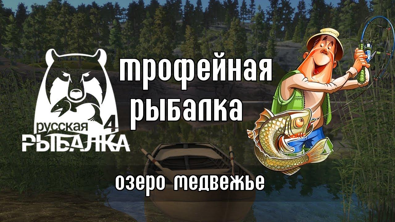 Трофейная рыба. Это рандом? — Русская Рыбалка 4/Russian Fishing 4