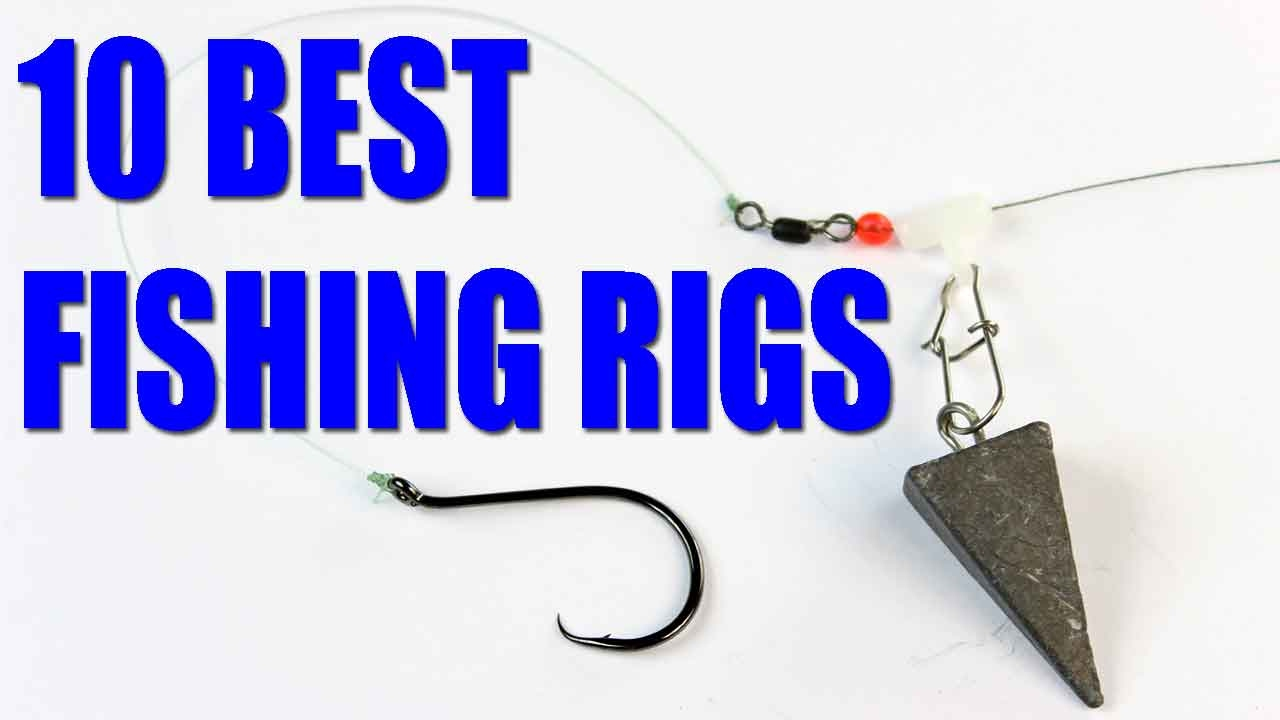Fishing rigs —  Bait fishing rigs for catfish, bass, trout — how to fish