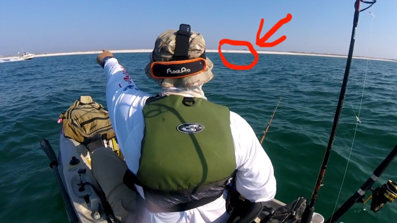 THE SCARIEST PART OF KAYAK FISHING !!!