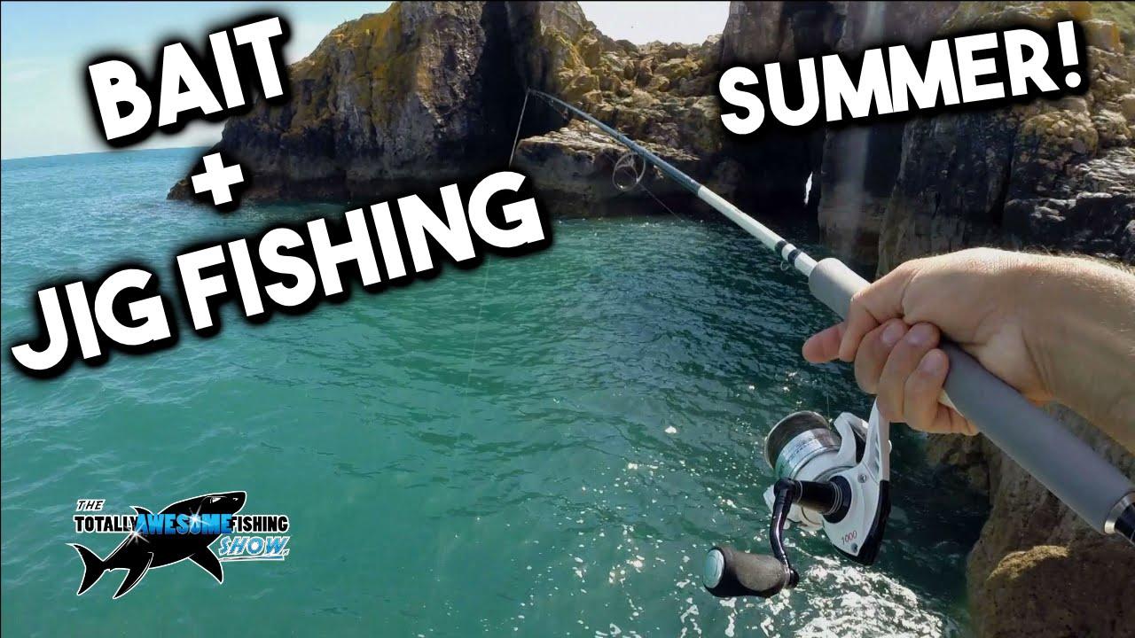 Summer Rock Fishing with Jigs & Bait | TAFishing