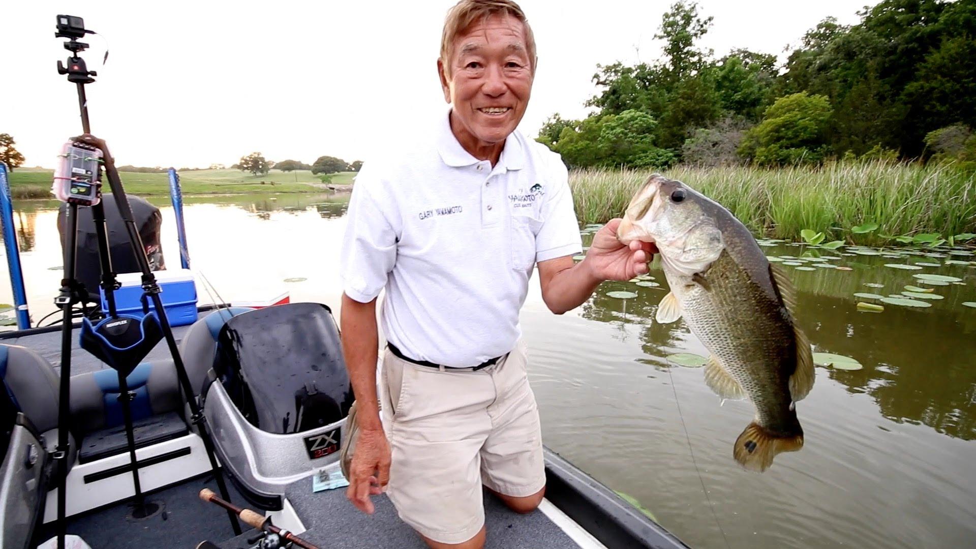 Bass Fishing With Gary Yamamoto