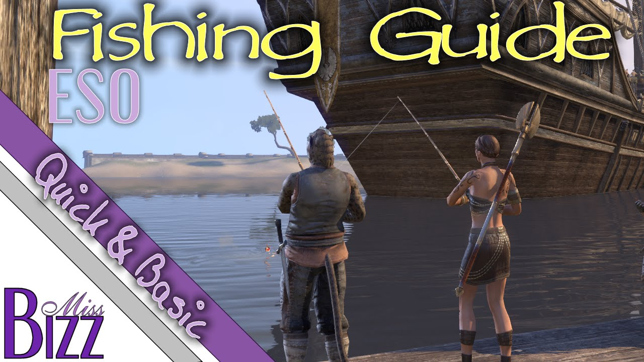 ESO Fishing Guide — How to catch rare fish in ESO — How to get Perfect Roe in Elder Scrolls Online