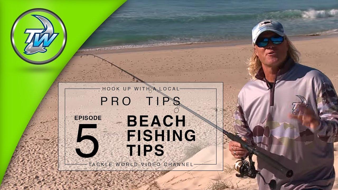 Beach Fishing Tips
