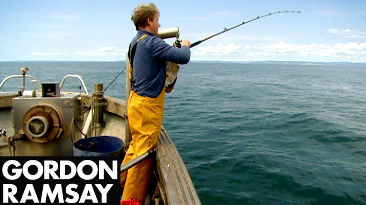 Fishing for Conger Eel — Gordon Ramsay