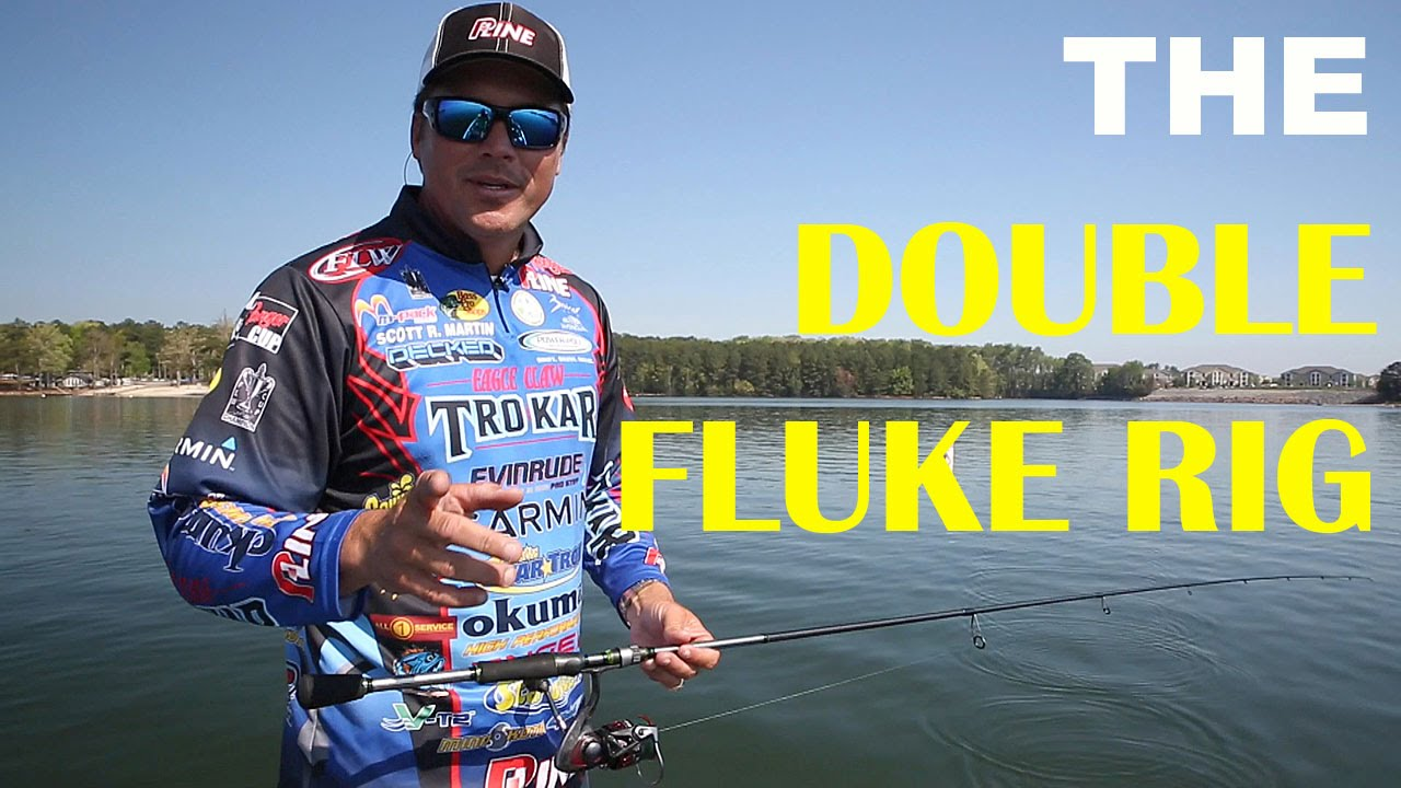 How To Fish The Double Fluke Rig | Bass Fishing