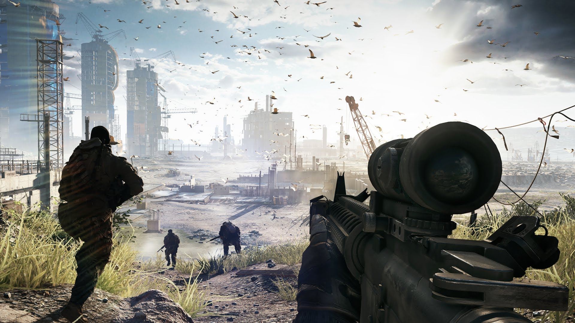 Battlefield 4: Official 17 Minutes «Fishing in Baku» Gameplay Reveal
