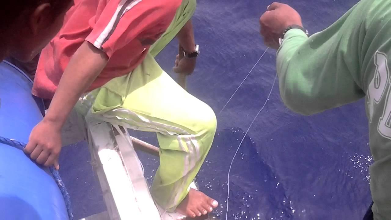 tuna fishing in gensan (Actual video)