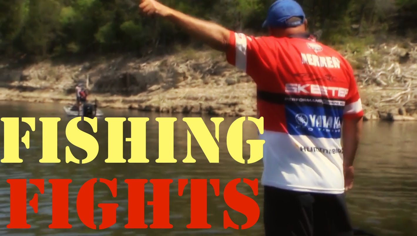 FISHING FIGHTS/DISPUTES (Tharp vs Herren, Rojas vs Jones) part2