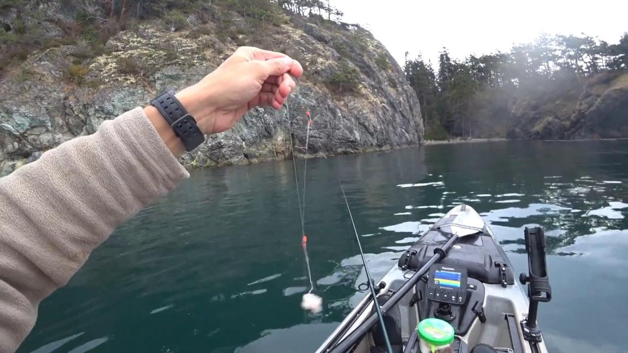 Морская Рыбалка на Каяке Бычок и Гринглинг Терпуг часть2